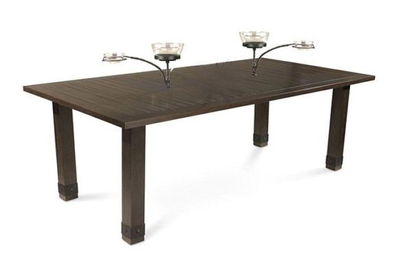 "Sadie 86"" Dining Table with Orbital Bowl"
